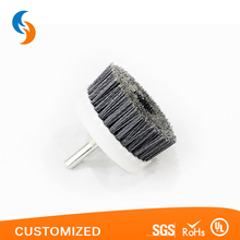 Electric drill carbon rotating disc brush for cleaning