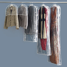 wholesale dry cleaning hard clear plastic garment bags