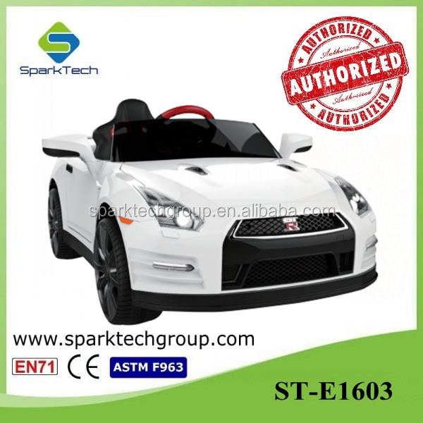 Licensed Nissan GTR Ride On, Electric Vehicle For Children, Kids Mechanical Car ST-E1603