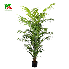 Customized PEVA 2.4m Plastic Furnishing Everglades Palm Tree