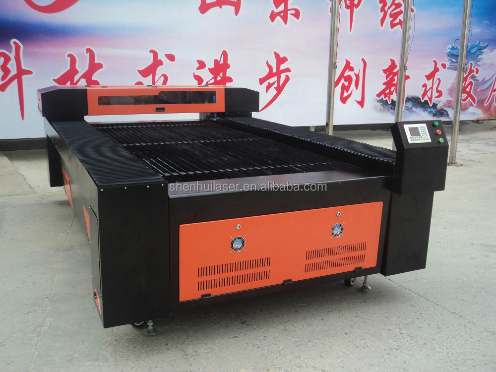 japan servo motors metal and non metal co2 laser cutter
