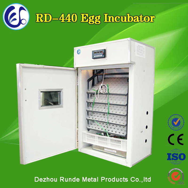 Hot Sale Highest Hatching Rate/Highest Quality/Newest Style Full Automatic 440 Eggs Poulty Chicken Egg Incubator For Sale