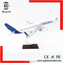 Ture to scale 1:100 37CM airbus neo spring airlines custom diecast airplane model a320 with your own logo