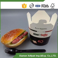 disposable custom round noodle box16oz /26oz /32oz