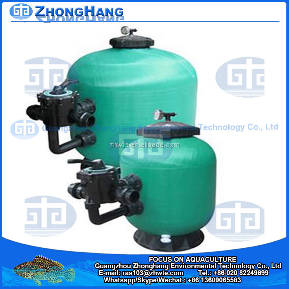 Side Mount Sand Filter for Water Treatment
