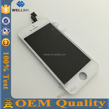 Assembly Full Lcd Display Screen Touch Digitizer for iphone 5s oem lcd,hot selling