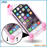 popular design universal cartoon silicone bupmer case