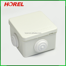 Square Waterproof Electrical Junction Boxes 80X80X50mm