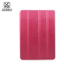 Kaku luxury pu leather pc shockproof stand many colors custom tablet case for ipad 2/3/4 tablet case