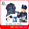 NEW 9PCS DELUXE POLICE OFFICER COSTUME
