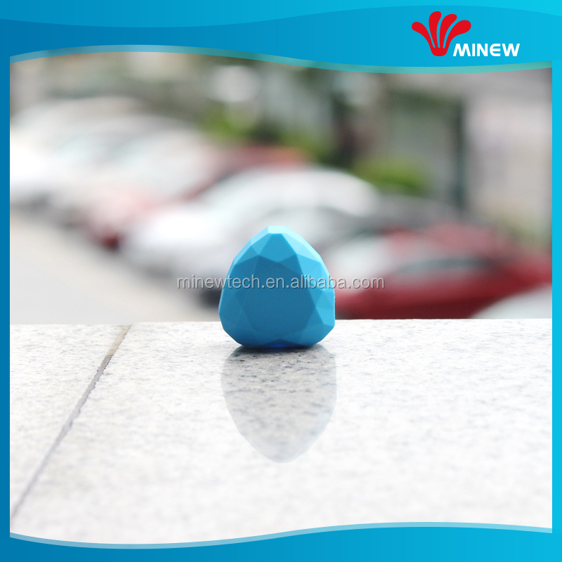 IP66 waterproof ibeacon customizable bluetooth beacon with external button