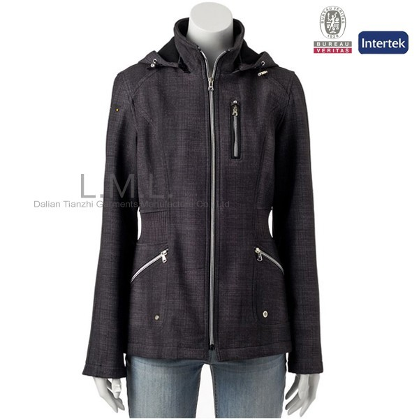 womens Wear - Softshell waterproof Jacket