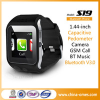 Hot 1.44 inch MTK6260 GSM Bluetooth Wifi Wrist Watch Cell Phone