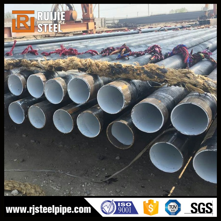 3 layer PE anti-corrosive spiral welded steel pipe for oil and gas