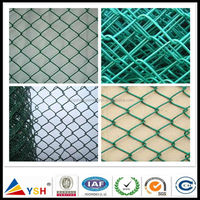 Good Quality Cheap Fence Used PVC Coated Chain Link Fence Panels for Sale(100% Factory)