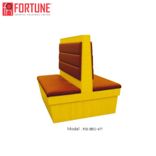 Hottest Selling Items Two Side Restaurant Seat Double Side Booth Seat