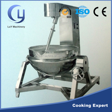 Low price hydraulic pressure high viscosity induction planet jacketed kettle with agitator