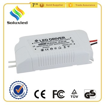 24W 300mA Constant Current LED Driver With Plastic Shell
