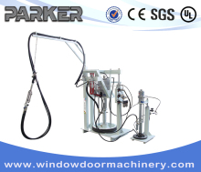 Insulating Glass Coating Spreading Machine/ Silicone Injection Gun for Insulating Glazing Glass