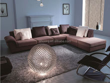 fabric Sofa with ottoman