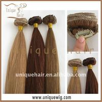 Full head clip in hair extension