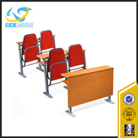 student desk and chair for university study desk chair / classroom school classroom furniture