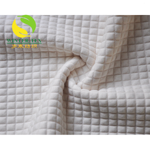 China suppliers shaoxing single sided quilted jacquard fabric wholesale pre quilted fabric