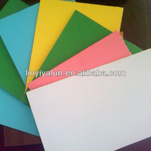 PVC plywood board for decoration from Linyi plywood factory for sale