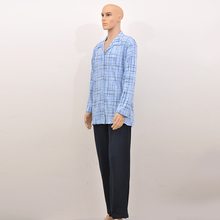 Economic action conveniencecotton mens knit pajamas sets