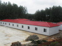 low shipping cost junior workers two bed modular prefabricated wooden house for romania