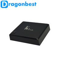 For best New year gift K1 Plus Amlogic S905 Smart Set Top TV Box 4K Ultimate HD Android 5.1 Lollipop Media Player Quad Core