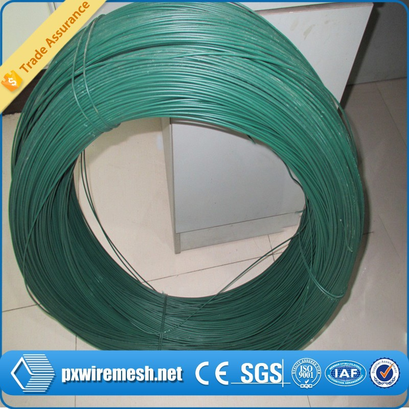 Hot dipped galvanized steel wire. gauge 12 BWG or 2.77mm, PVC coated wire production, zinc level 60gr/m2