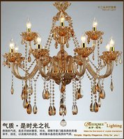 6 Arms Crystal Chandelier Ceiling,Chandeliers with Crystal Balls in Fashionable Style