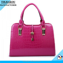 Wholesale custom leather woman hand bags in dubai