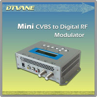 (DMB-9590) Compact CVBS/S-video/Ypbpr To ISDB Encoder Modulator With MPEG-2 Video Encoding And USB Interface