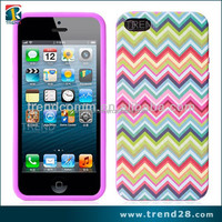 mobile phone accessories factory in china fashion silicon case for iphone 5 5s