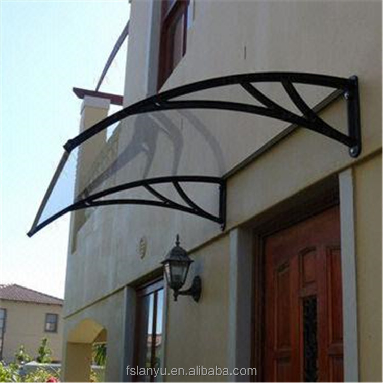 hot sale large size outdoor polycarbonate porch awning canopy