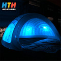 Hot selling inflatable party dome tent with led lighting