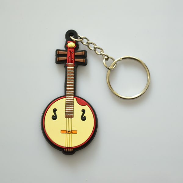 keychain with music sign / mini keychain universal remote control