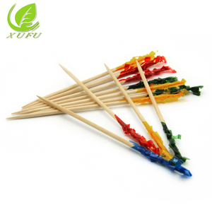 Wooden Cocktail flag toothpick Party Disposable tooth pick