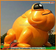 jumbo commercial PVC inflatable promotion cartoon frog
