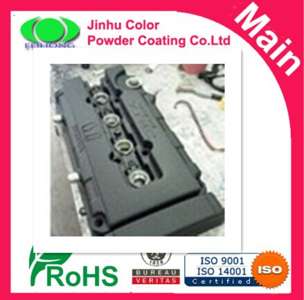 Powder Coating Coat Paint - FLAT BLACK WRINKLE