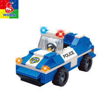 Low Price Diy City Police Station Building Block