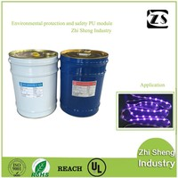 uv polyurethane resin liquid clear adhesive for LED lights