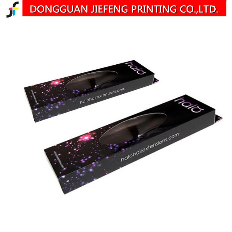 Hot sale Custom paper hair extension packaging company