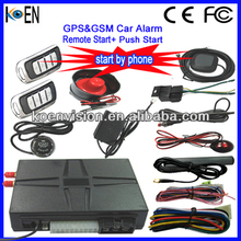 Keyless Entry System With PKE GPS Remote Start Push Start