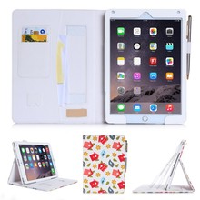Colorful Pattern Fashion Design Leather Cover Factory FOR Ipad Air 2
