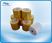 80mm High quality thermal paper roll with golden paper pack