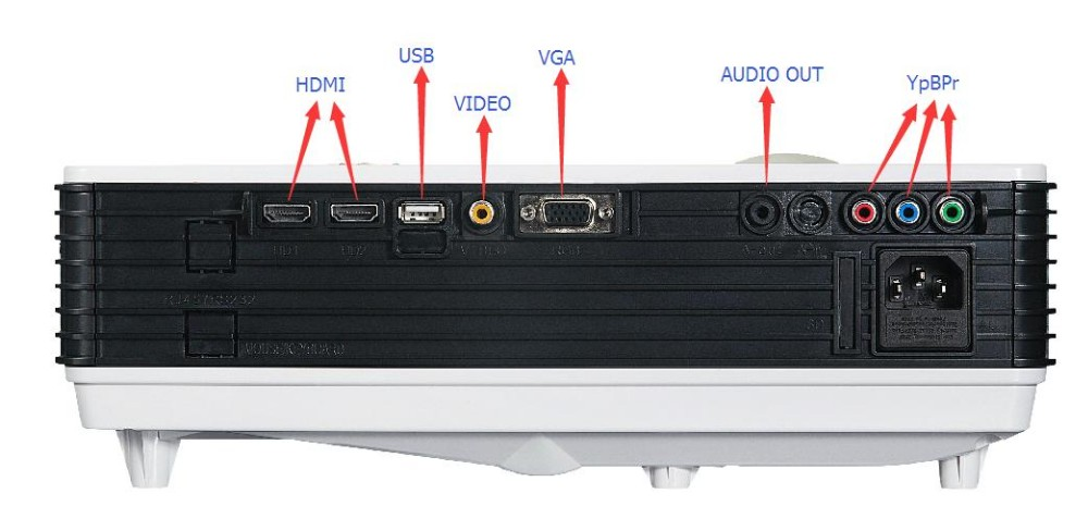 Factory directly Teaching&Office projector with Android Wifi Projector 1280*768 support 1080p for LCD&LED beamer