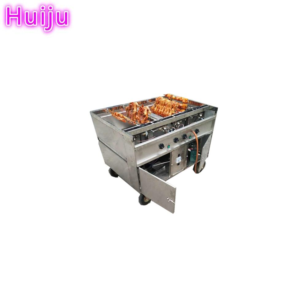 Commercial duck leg roaster automatic chicken roaster machine